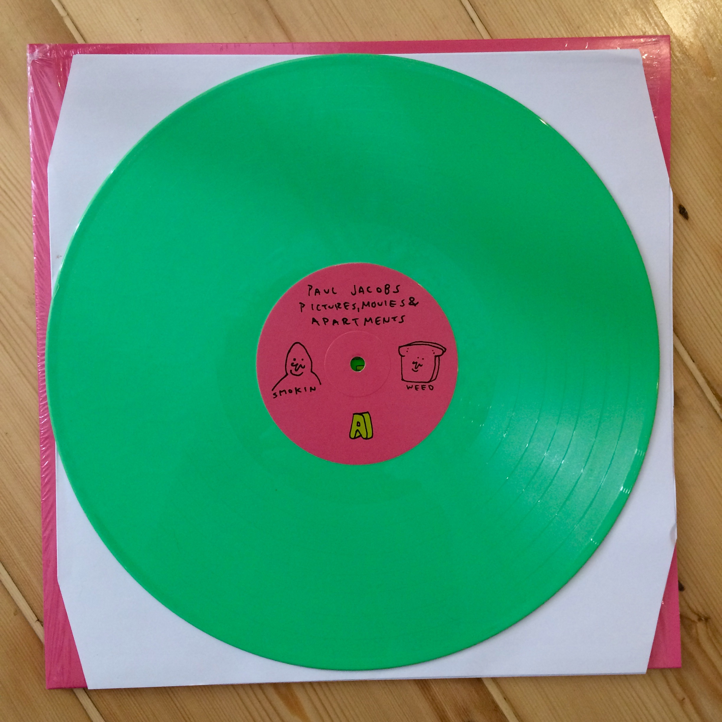 Paul Jacobs - Pictures, Movies And Apartments Green Vinyl