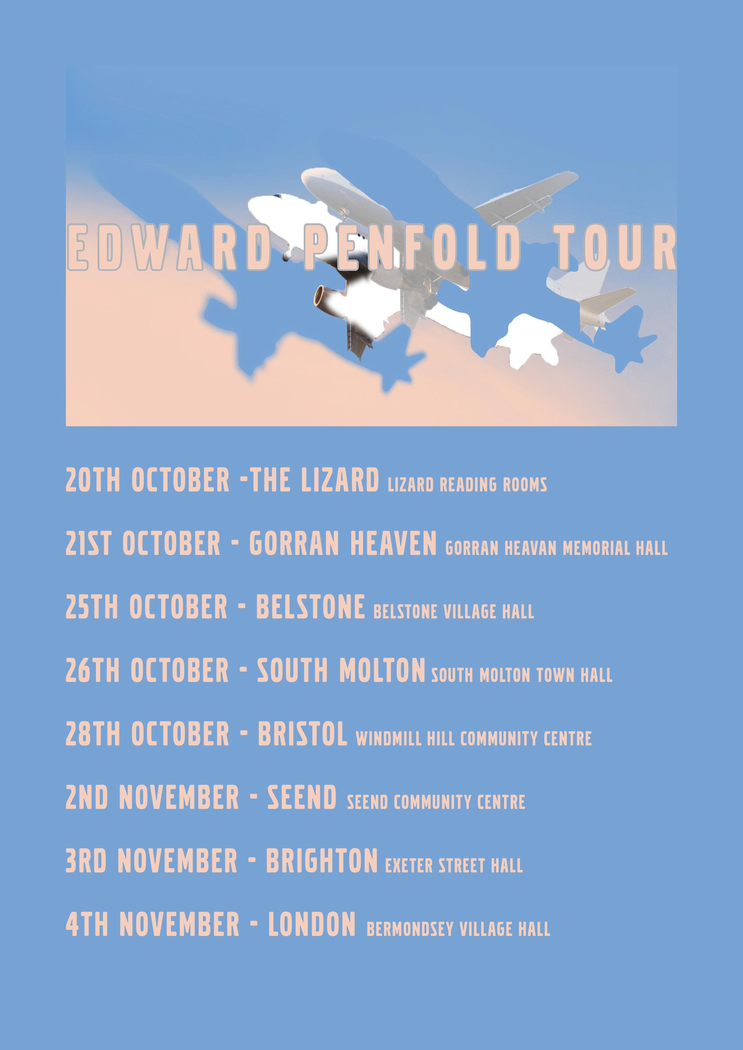 Edward Penfold - Tour