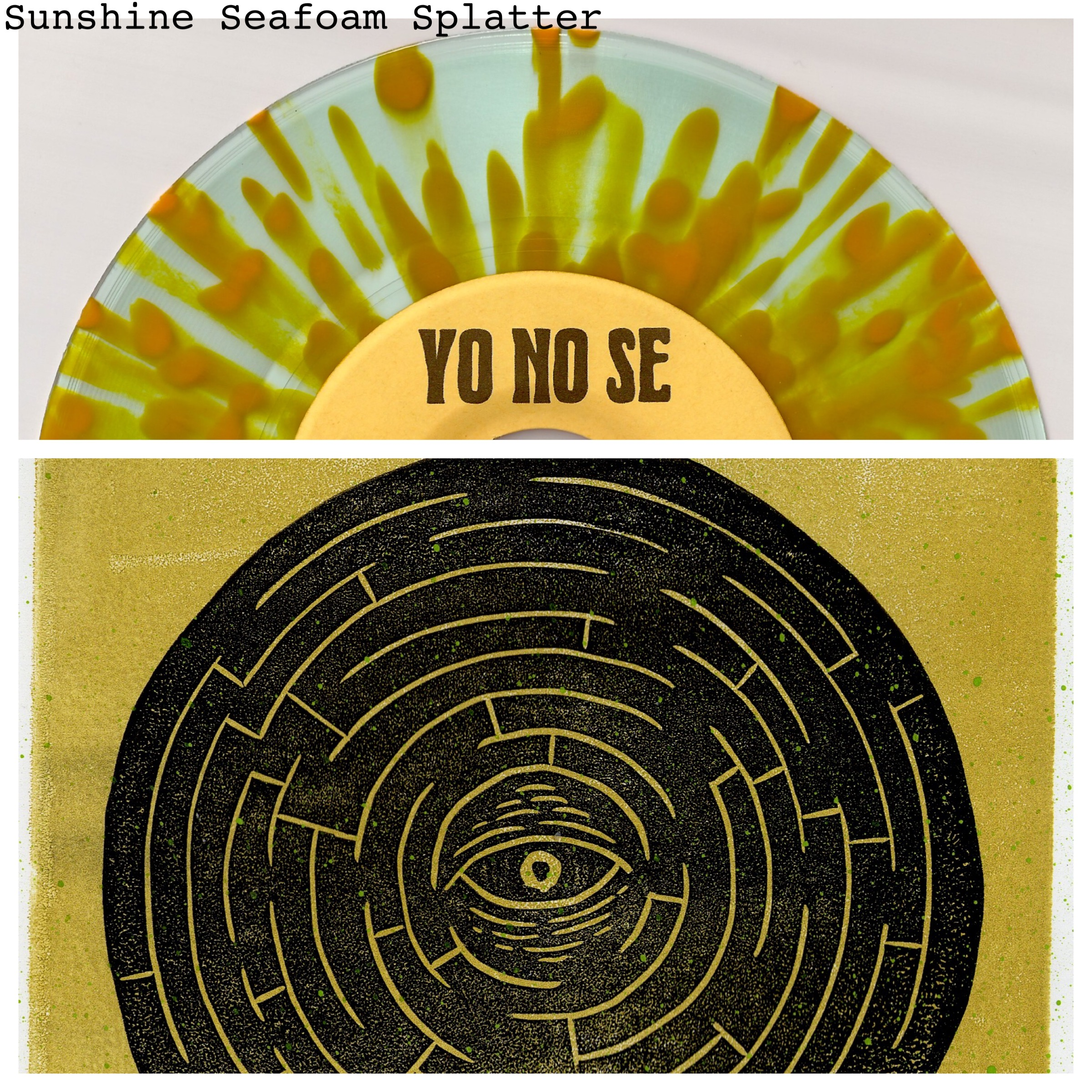 Yo No Se - Sleeper Awakes yellow splatter