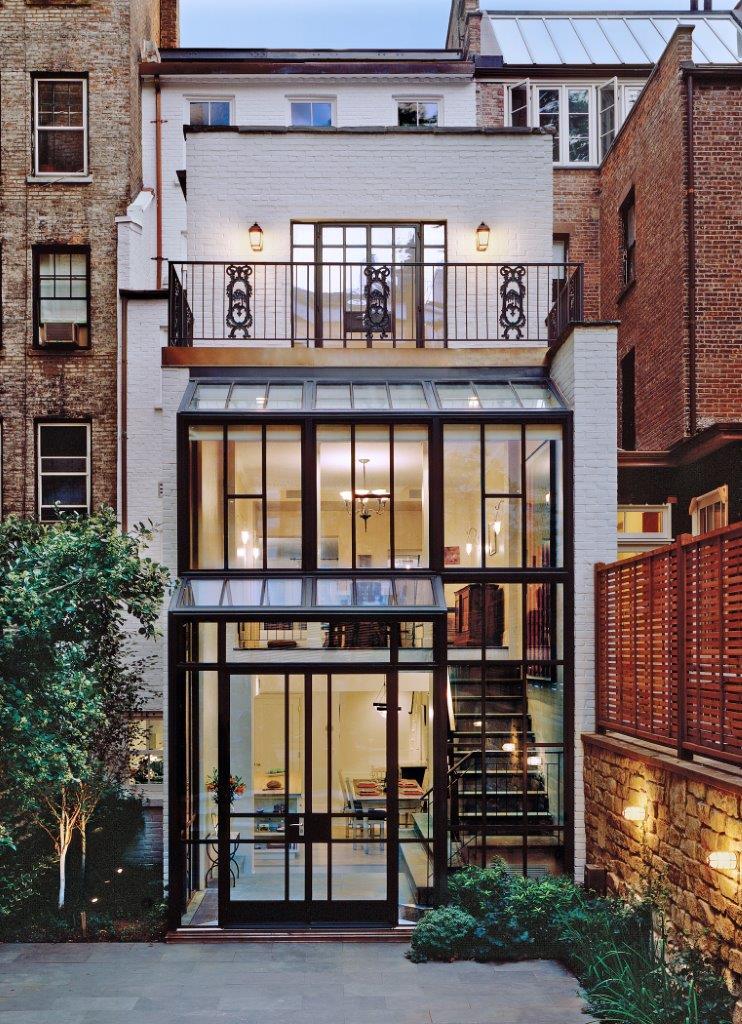 Greenwich Village Townhouse_Photo_Rear Exterior.jpg