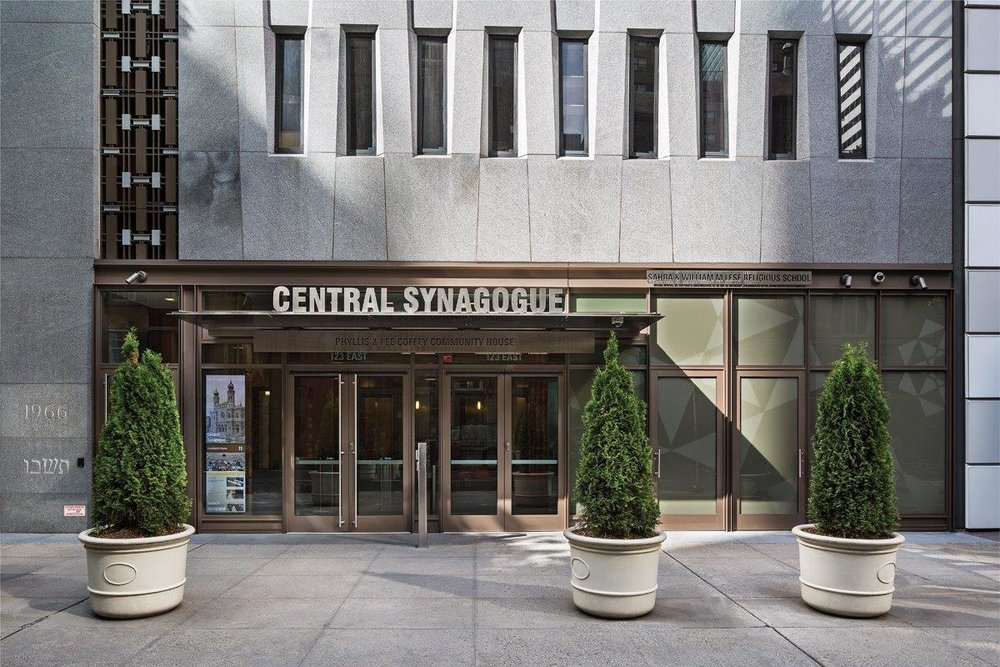 Central Synagogue entrance