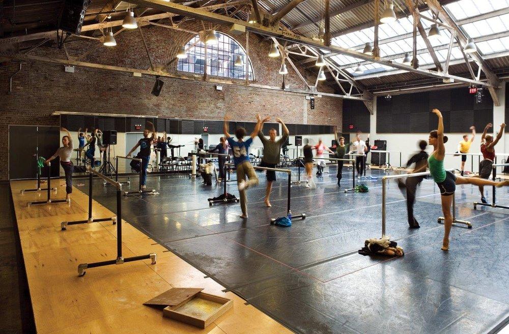 Cedar Lake Ensemble dance studio