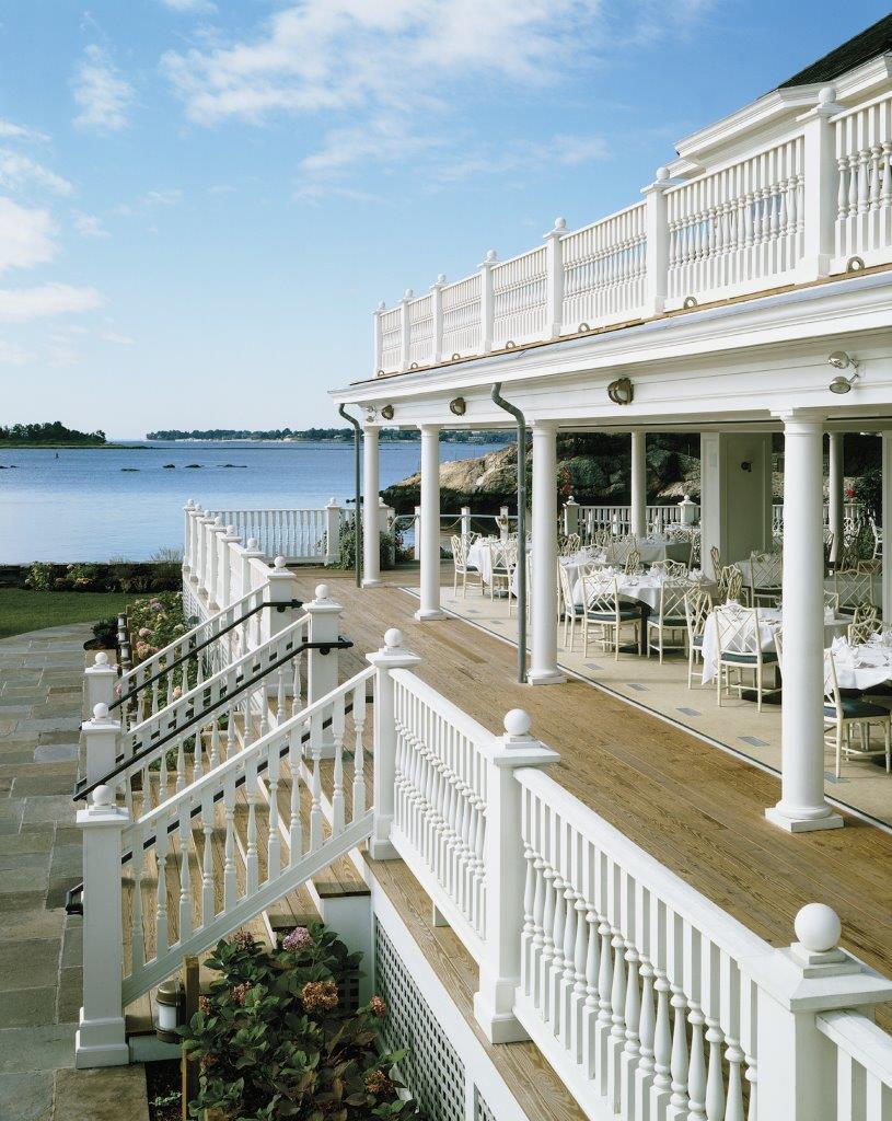 Belle Haven Club terrace