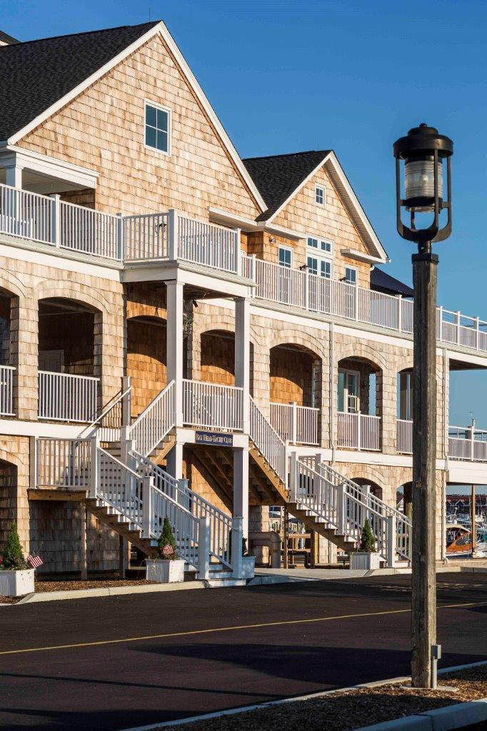 Bay Head Yacht Club facade
