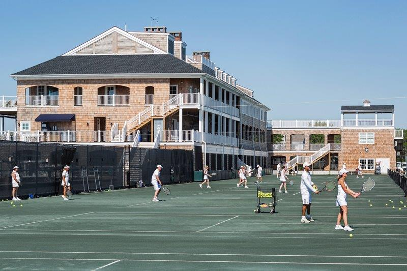 Bay Head Yacht Club tennis court