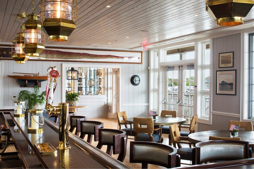 Bay Head Yacht Club bar