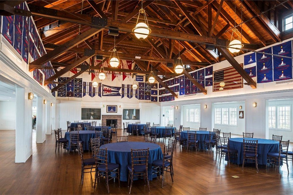 Bay Head Yacht Club banquet hall