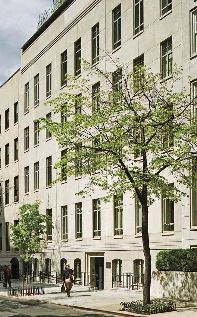 Andrew W. Mellon Foundation facade
