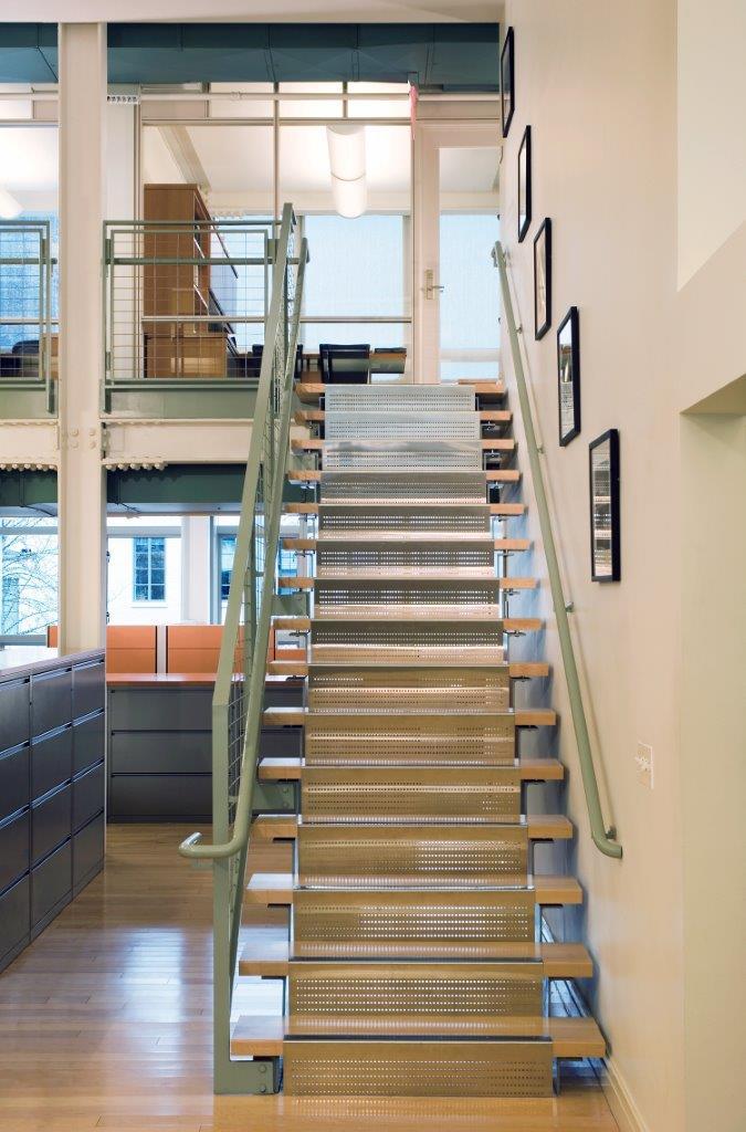 Andrew W. Mellon Foundation staircase
