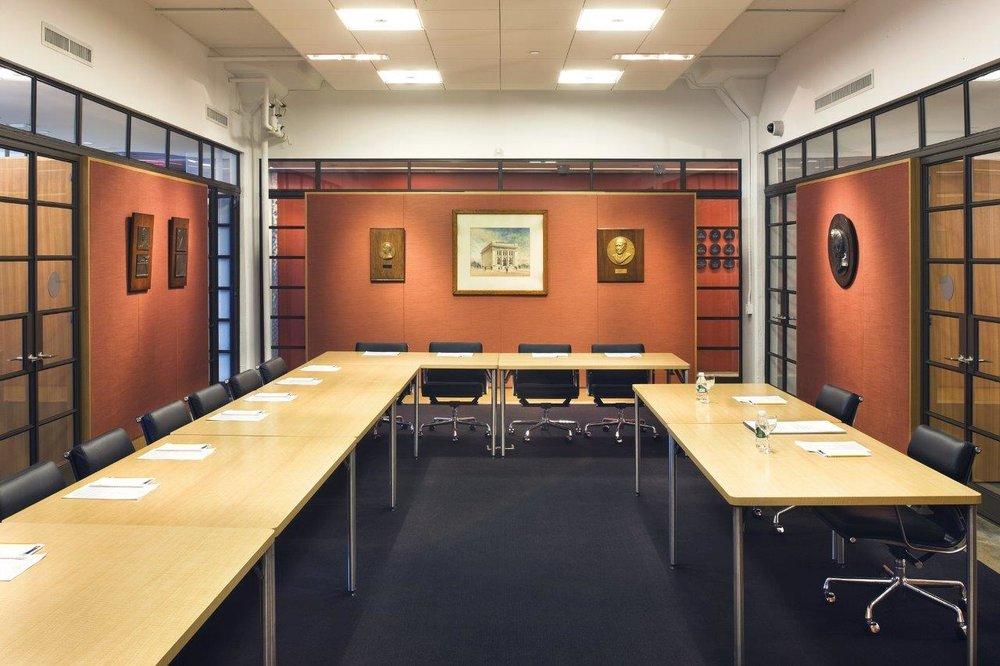 American Numismatic Society meeting room