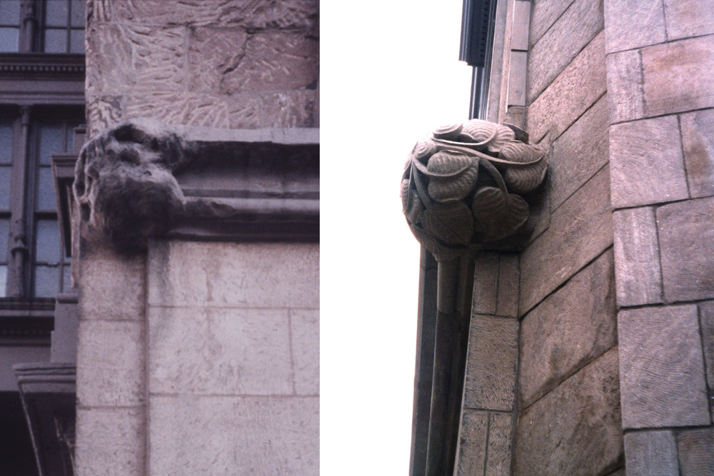 Cooper Union Foundation Building before and after
