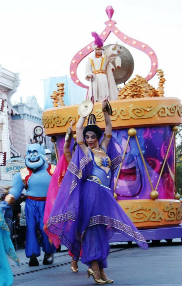 Disney performer (and UCI alum) Natasha Roberts.