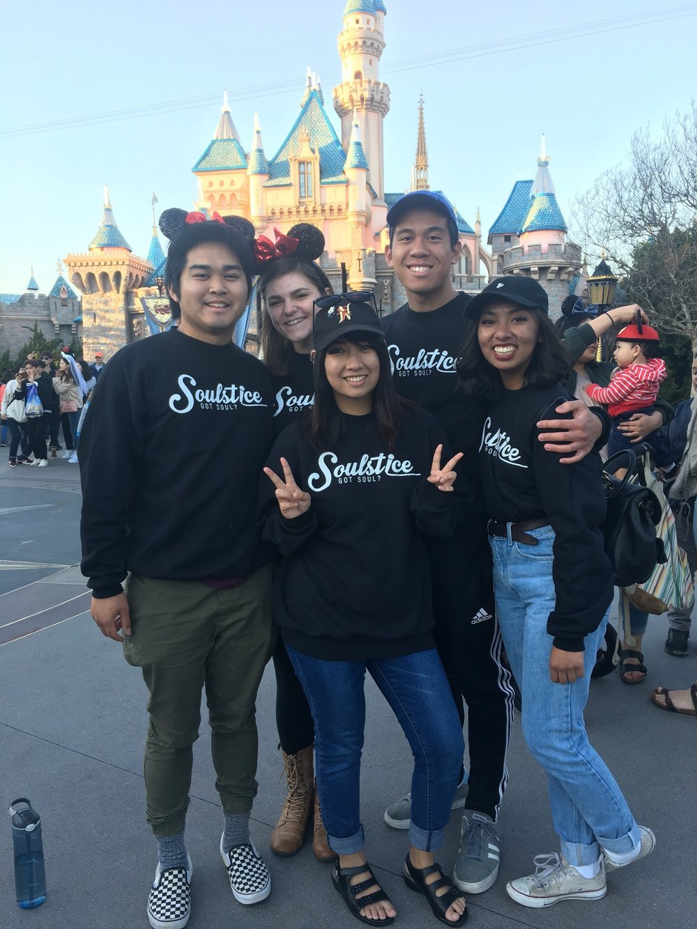 Soulstice League at Disneyland.
