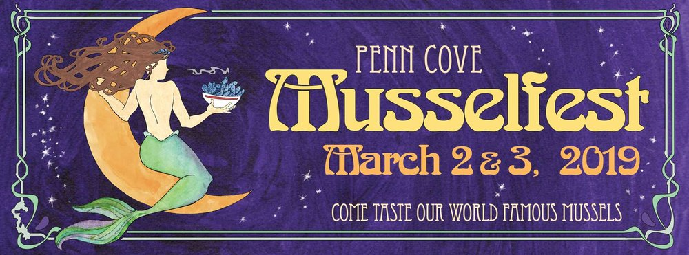 Penn Cove Musselfest on Whidbey Island