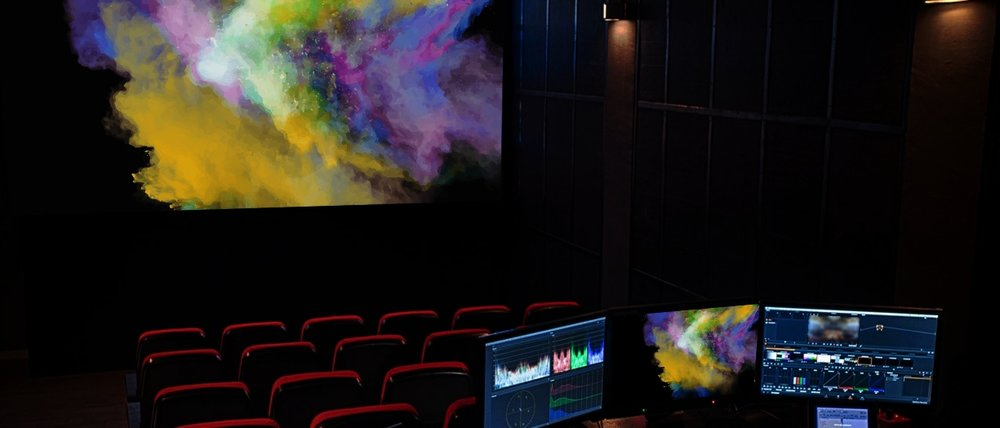 DI and Screening Theatre - Our DI theatre is the only post production facility in the Southern Hemisphere where you can view your work on the Christie CP42LH RGB laser cinema projector.