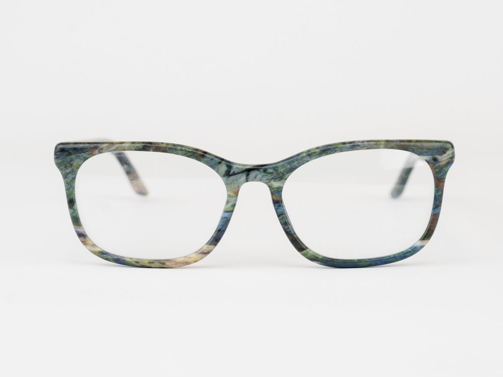 Hopper - For the tech lovers. The Hopper is a bold square frame inspired by the storied inventor.Available in any color or pattern that your heart desires.