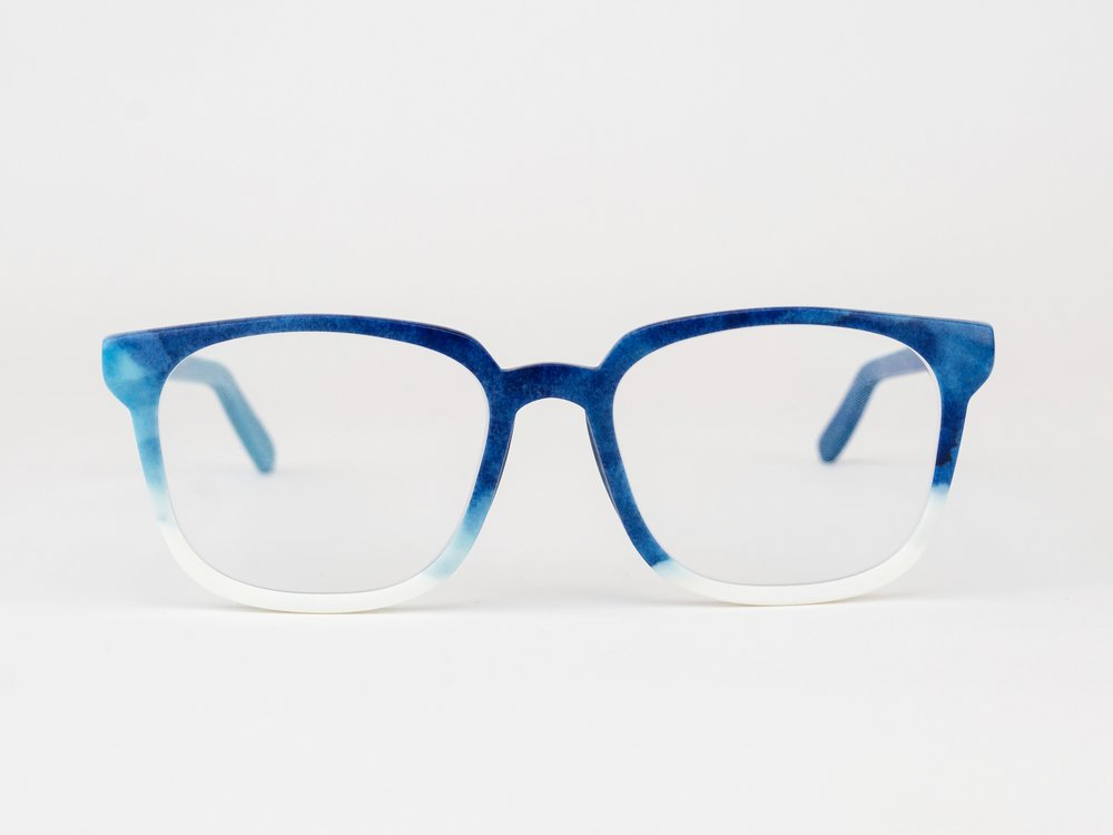 Tarbell - The Tarbell is a bold square frame inspired by the pioneering investigative journalist Ida Tarbell.Available in any color or pattern that your heart desires.