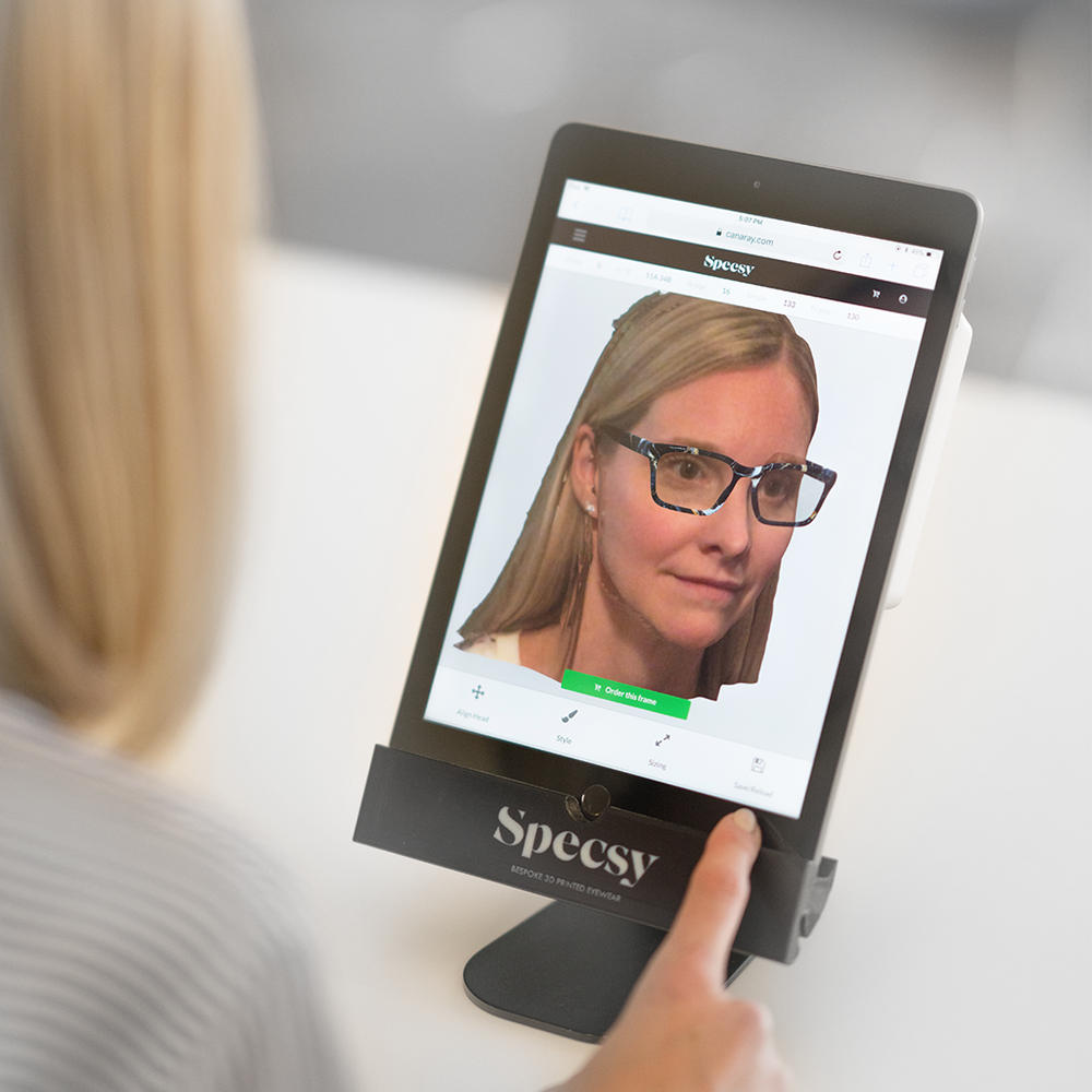 Engage your customers - Looks like snapchat, but is designed to sell Specsys … by technological hypnosis. It works!