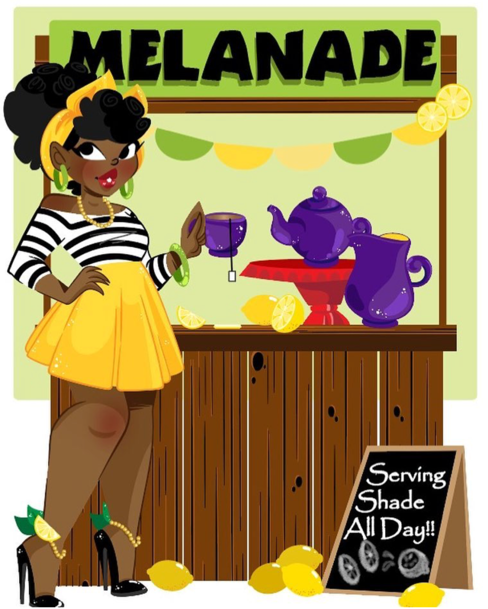 The MELANADE STAND