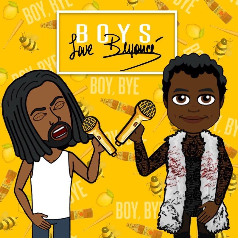 BOYS LOVE BEYONCÉ
