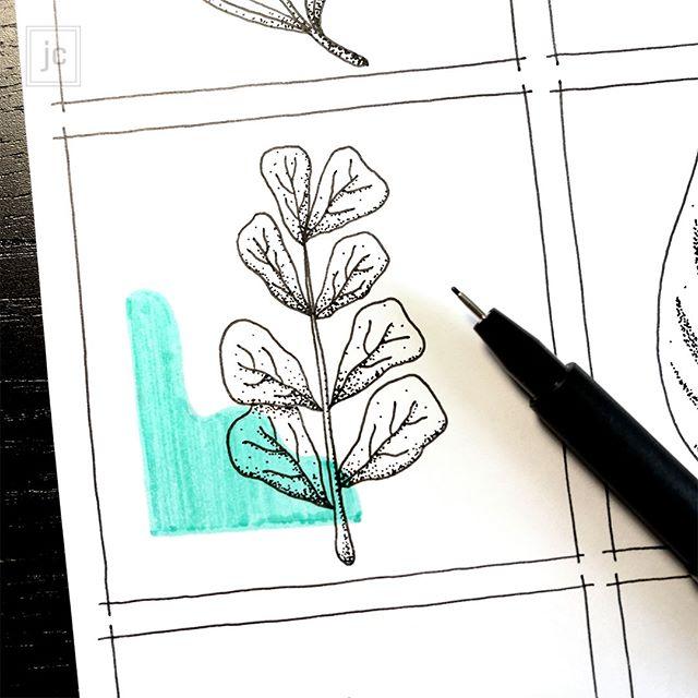 Couleur & Plante || Numéro 7 ☘️ Fiddle Leaf Fig - - - - - - #fiddleleaffig #ficuslyrata #plantsarefriends #leafart #plantsarelife #plantdrawing #plantillustration #plantdoodle  #plantdesign #myplantaesthetic #ihavethisthingwithplants #weloveplants #plantlovers #plantgoals #plantcollector  #plantaholic #plantgang #natureillustration #plantportrait #plantart #botanicalart #botanicaldrawing #minimalillustration #botanicalpickmeup #colorcompanion #onecolor #slomaker #slomade #CouleurEtPlante #jeannecarlier