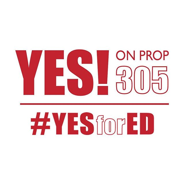 "Arizona families deserve increased opportunity for their children, and tax payers deserve increased accountability and savings. Did you know voting ""yes"" on Prop 305 provides all three?! #yesprop305 #yesfored"