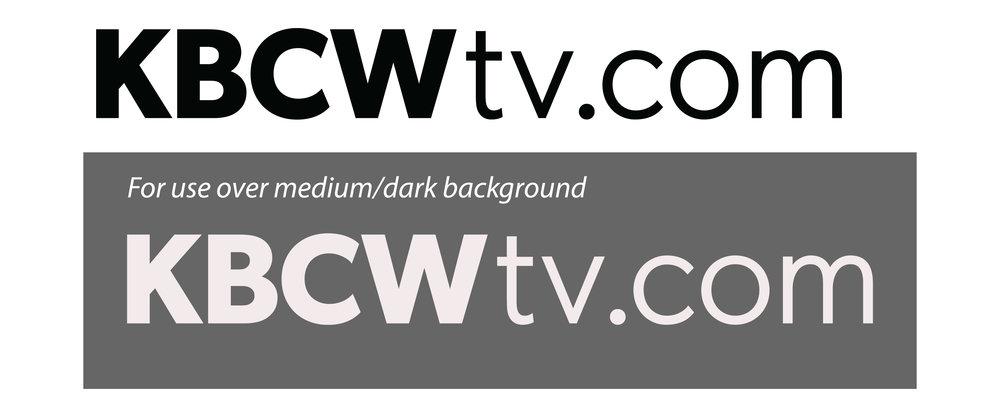 KBCWtv.com Logo - PDF •AI •EPS • SVG • TIF•JPG•PNG