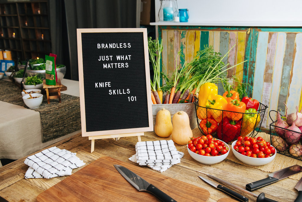 Brandless Influencer Dinner by Hidden Rhythm