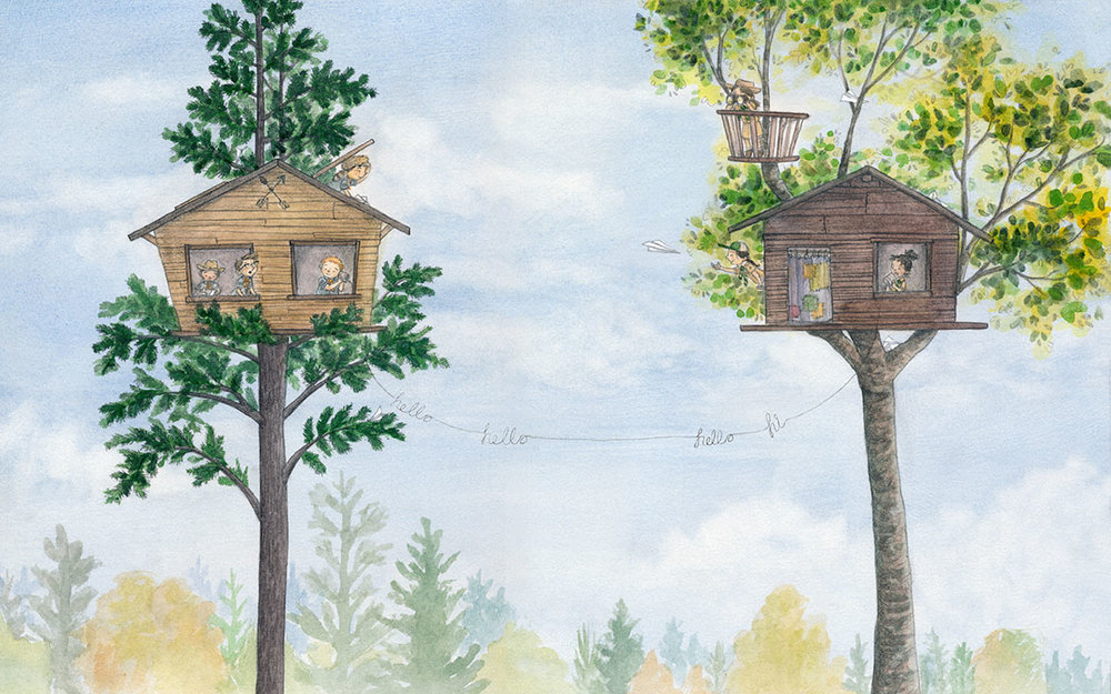 Scout Tree House