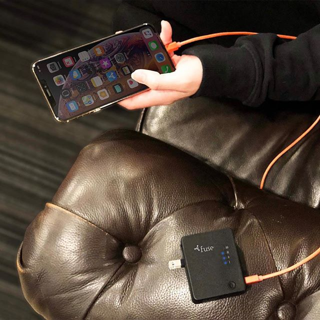 2-in-1 Travel Wall Adapter with Backup Battery: A travel friendly lightweight wall adapter with foldable plug and compact/powerbank for convenient charging. Now available on fonegear.com . . . . . #fuse #accessories #phone #batterybackup #powerbank #wallcharger #power #charge #chargers #charger #black #blue #led #ledlights #cables #nylon #lightning #iphone #apple #samsung #android #lifestyle #onthego #portable #portablecharger #travel #travelblogger #tech #technology #linkinbio