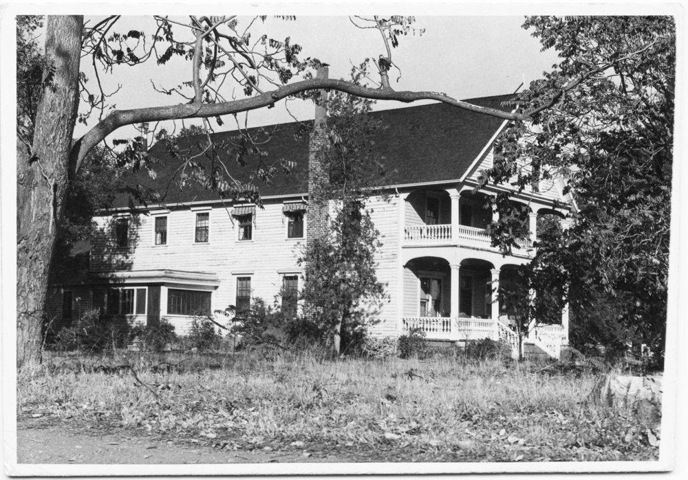 Greer Residence on Embarcadero Road, 1935