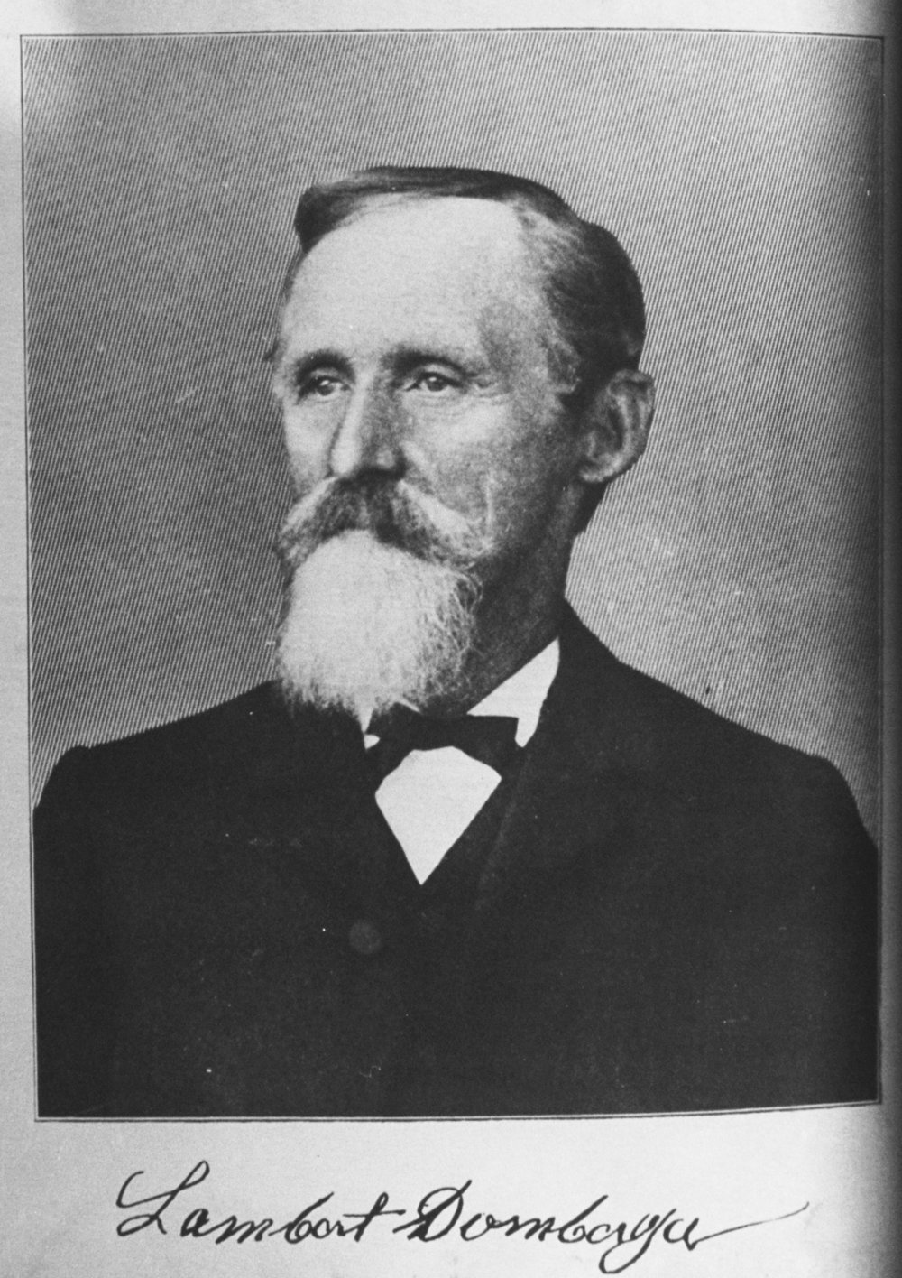 Lambert Dornberger. Photo courtesy of Palo Alto Historical Association.