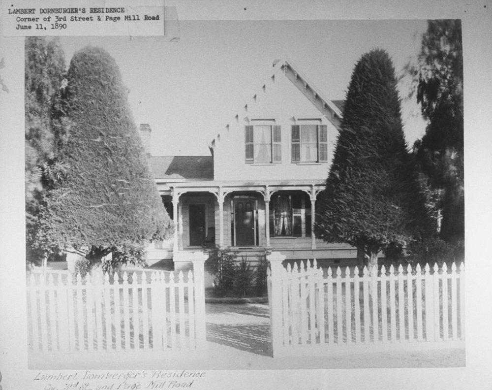 Dornberger residence, 1890