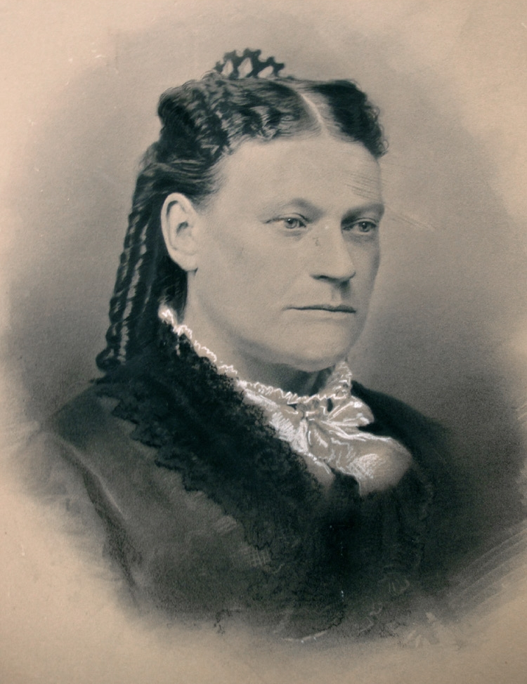 Juana Briones de Miranda (possibly) — only one photo exists that is believed by her relatives to be Juana Briones. Courtesy of Golden Gate National Recreation Area.