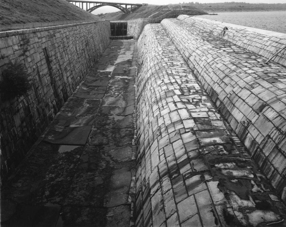 Spillway, Neversink Reservoir,