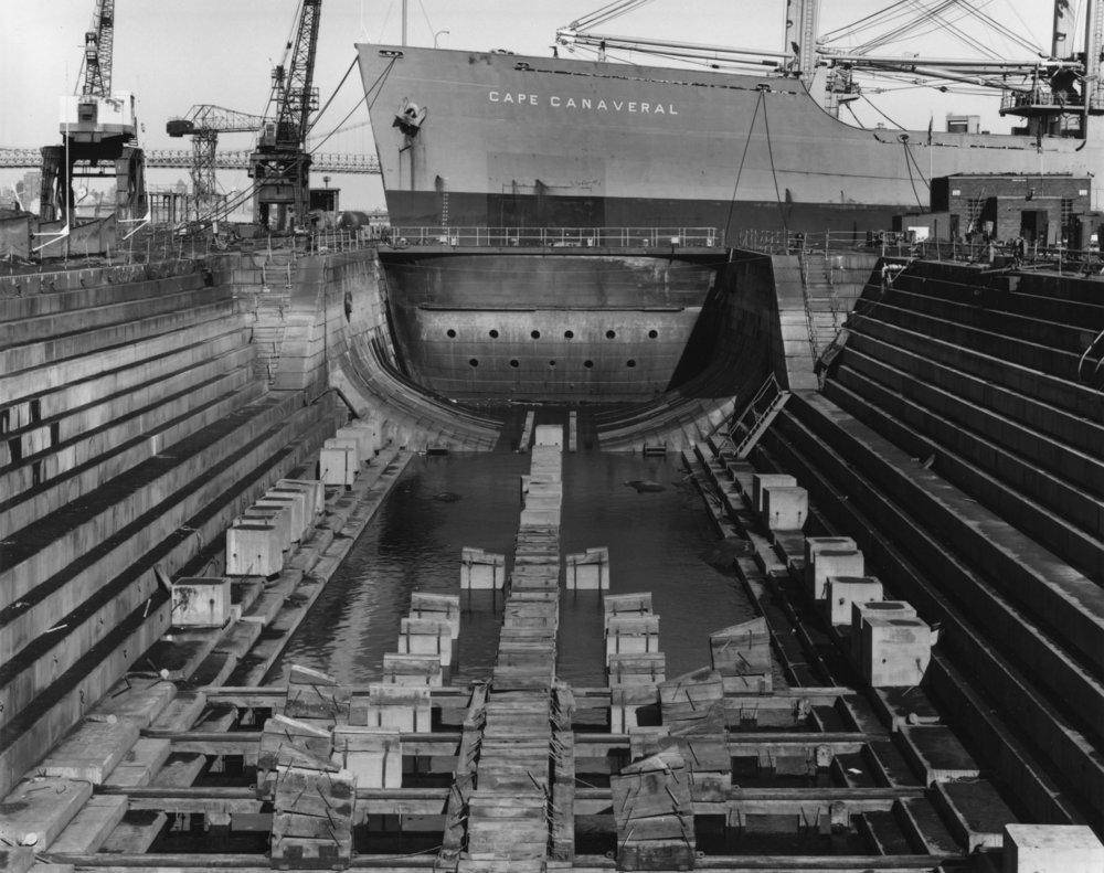 Drydock, Brooklyn Navy Yard, 1991