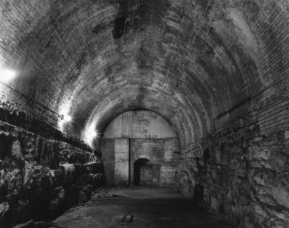 Wine Cellar, Brooklyn Bridge, Manhattan, 1992