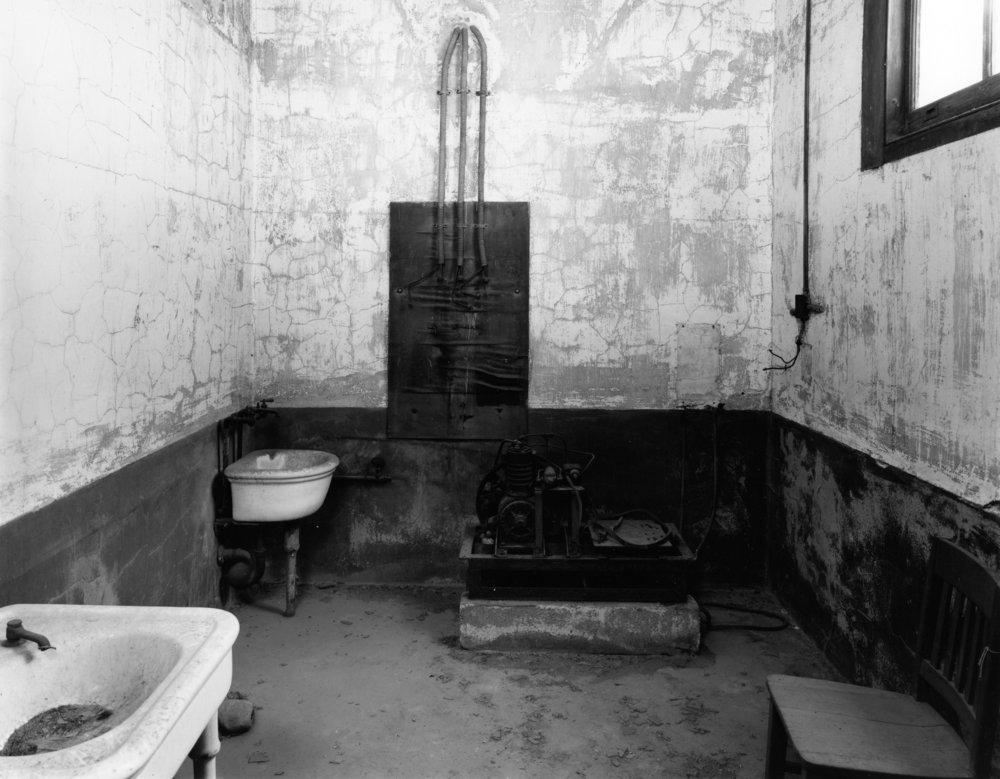 Morgue Preparation Room, Ellis Island Hospital, 1992