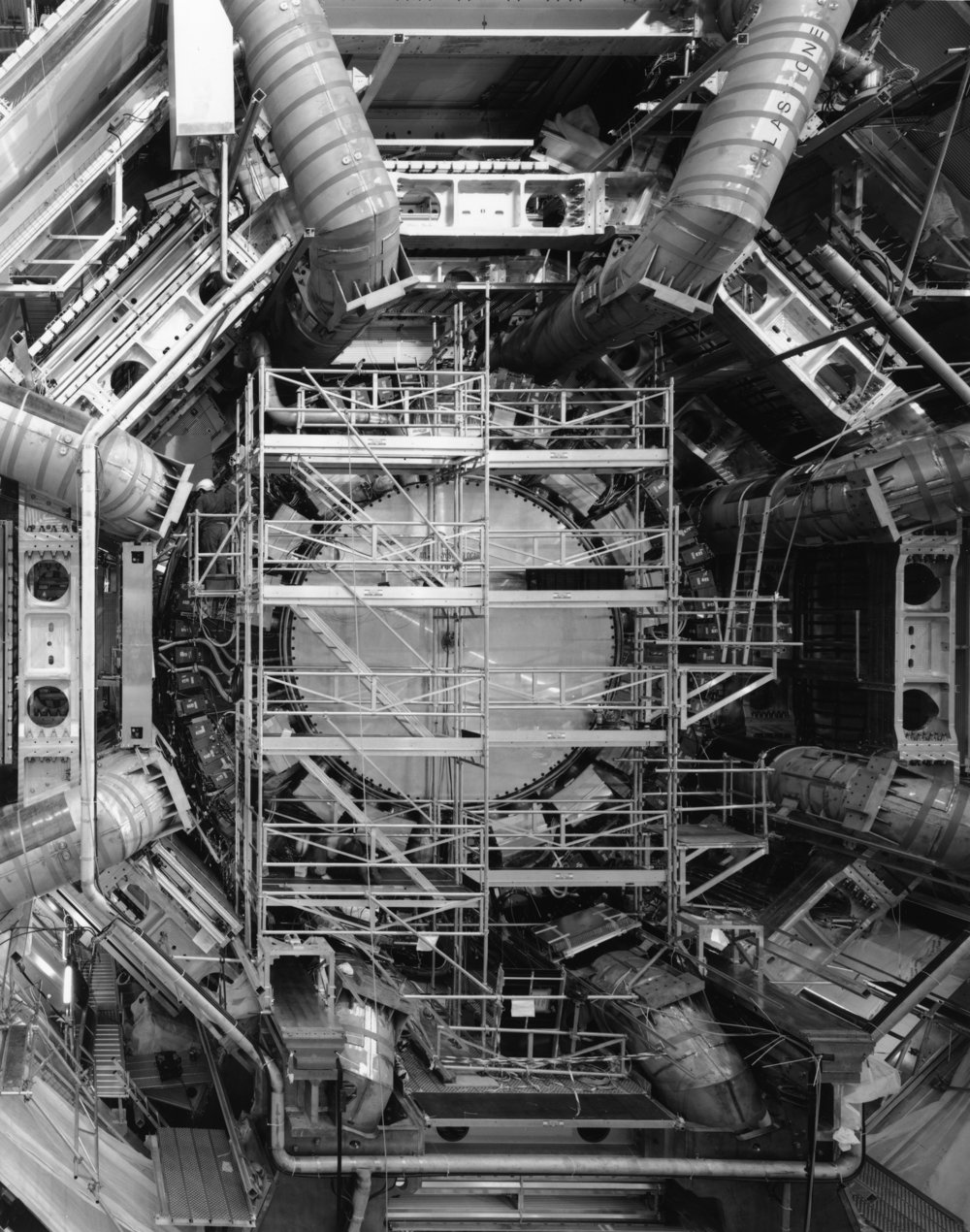 Calorimeters and Toroid Magnets, ATLAS, Large Hadron Collider, CERN, Switzerland, 2006