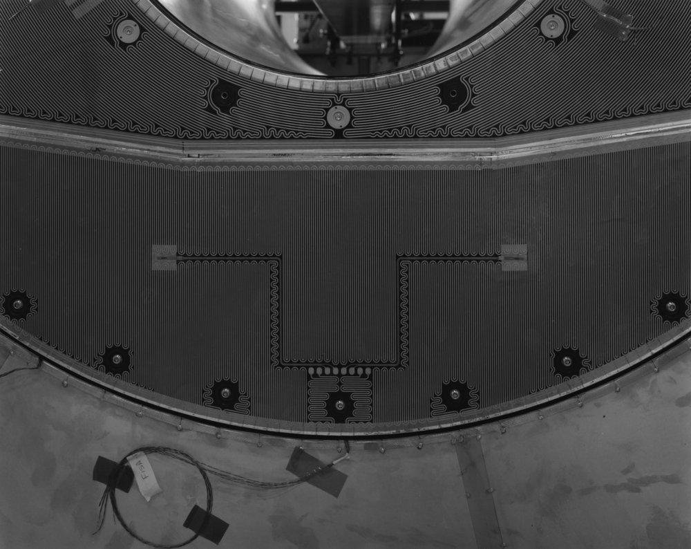Heater Pads on ID Endcaps, ATLAS, Large Hadron Collider, CERN, Switzerland, 2006