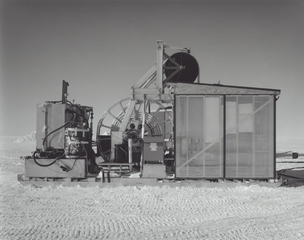 Firn Drill Shed, ICECUBE Neutrino Observatory, South Pole, Antarctica, 2009