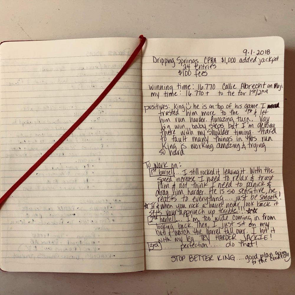 King's Unicorn Journal Entry - Sept. 1, 2018
