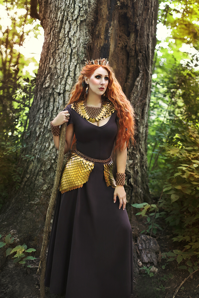 Photography: Winterwolf Studios  http://www.winterwolfstudios.com/     Chainmaille/wardrobe stylist: It Is Known  https://www.etsy.com/shop/ItIsKnown     Crown: Loschy Designs  https://loschy.us/     Gown: Moresca  https://moresca-clothing-costume.myshopify.com/     Model: Ruby Randall  https://www.facebook.com/RubyRandallVintageArtModel/     MUA: Fox, Fawn & Fauna - Make-up Art by Ruby Randall  https://www.facebook.com/FoxFawnandFauna