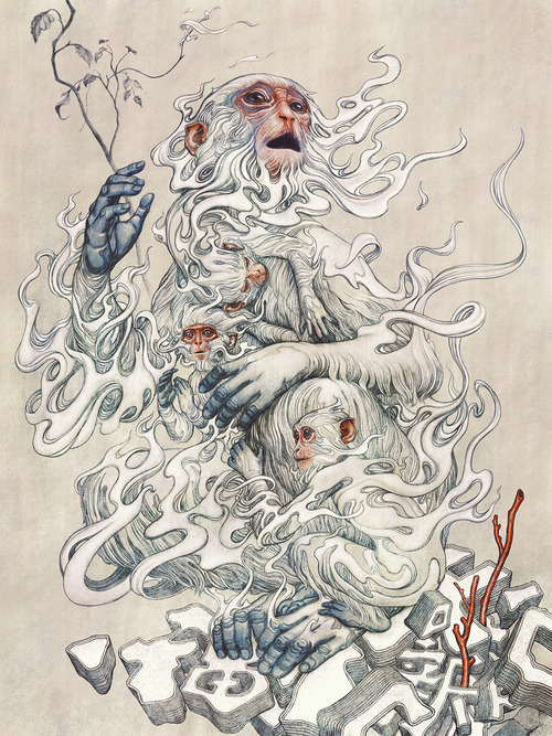 Year Of Monkey by James Jean