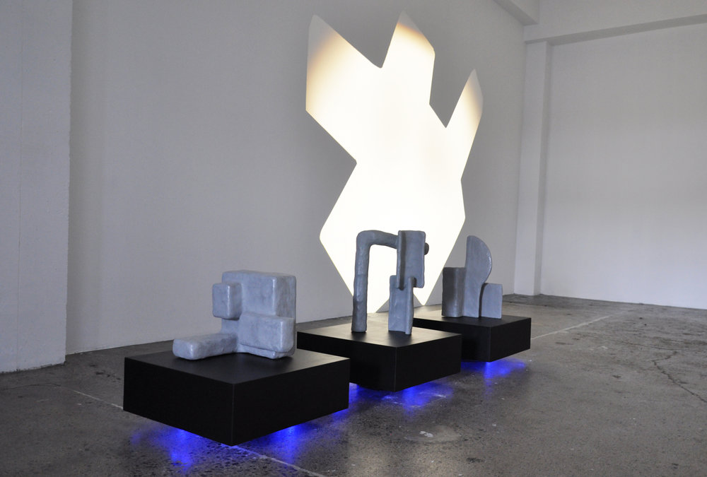 Moniek Schrijer,  Double Happiness  installation view, 2016. Image courtesy of the artist.