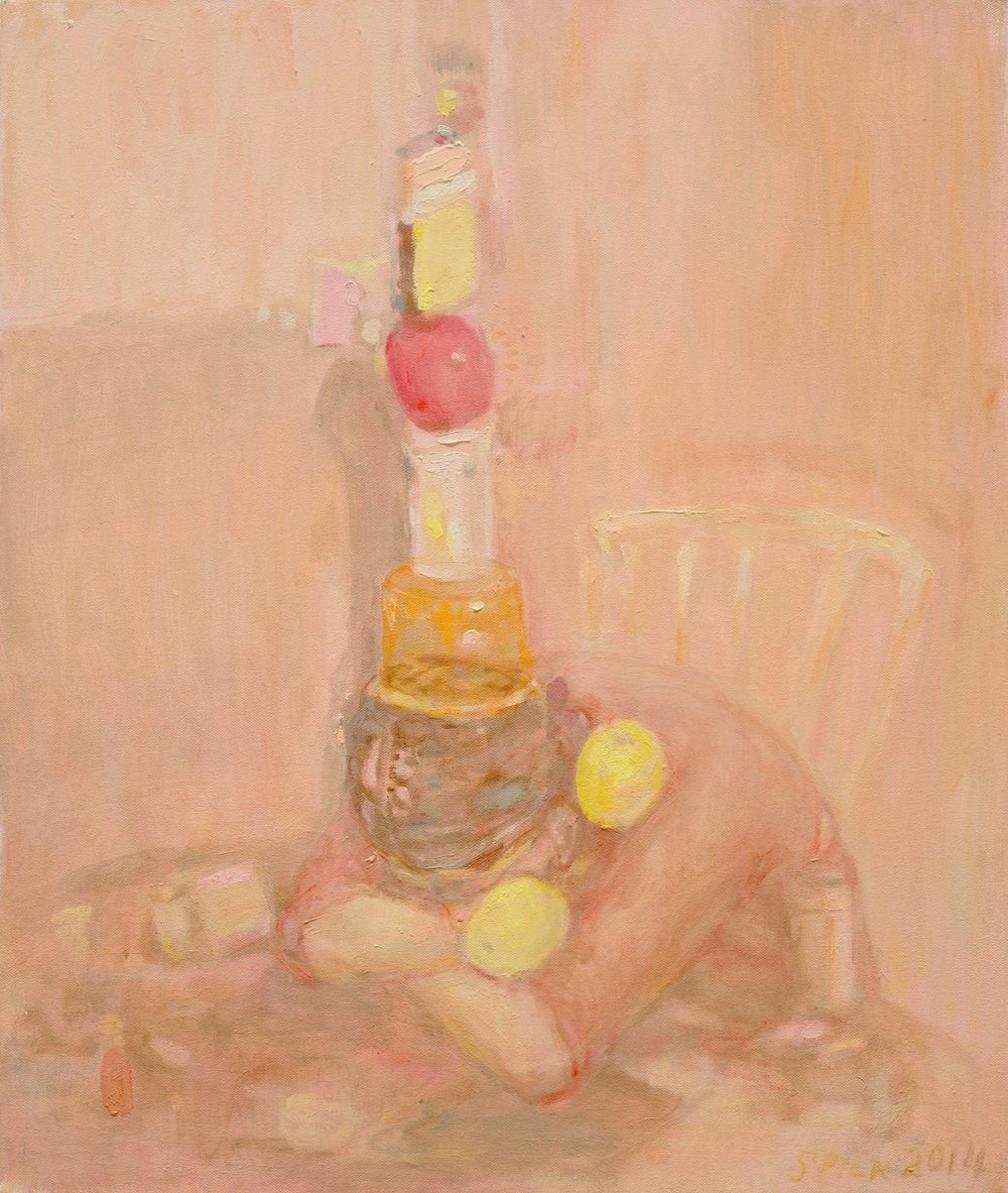Séraphine Pick,  Peach Stack , 2014. Image courtesy of the artist.
