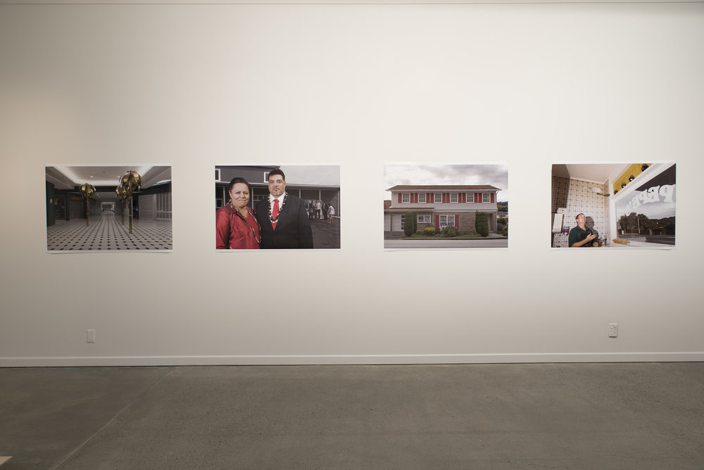 John Lake,  What Goes On - Lower Hutt suburbs  (series title), 2011-2015. Courtesy of the artist and The Dowse Art Museum.