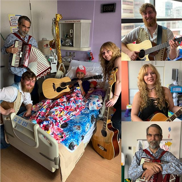 Thank you to @homegrowncaleb for bringing your songs of hope, revival, and life to @texaschildrens . You created special moments for the many patients and families' whose lives you touched. #ampurroom #tbt