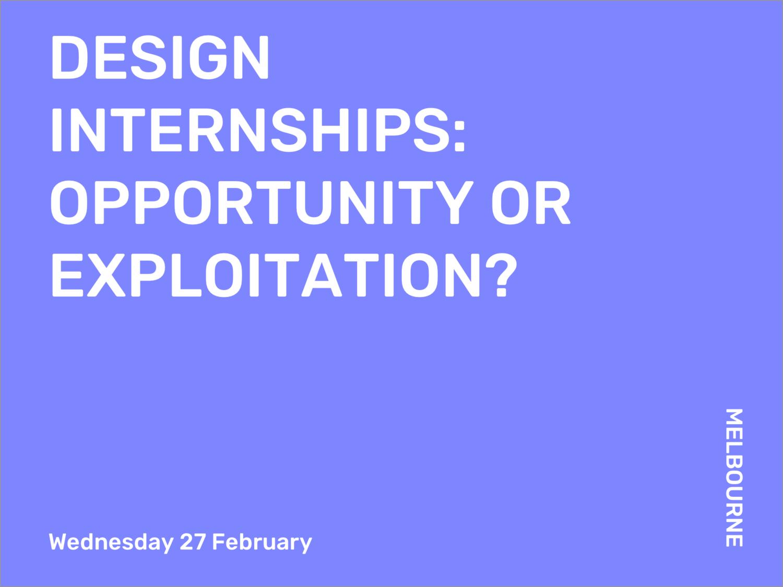 Excellent Event 27 2 Melbourne Design Internships Opportunity Or Interior Design Ideas Ghosoteloinfo