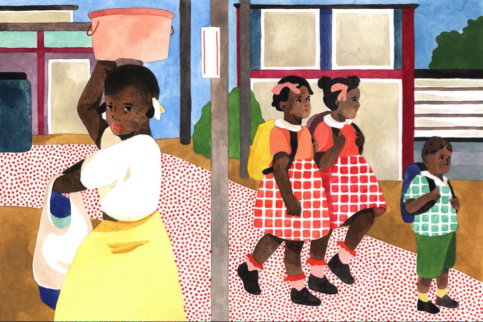 Illustration Julia Spiers pour  8e étage